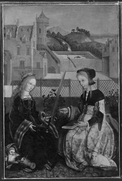 Saints Catharine and Agnes