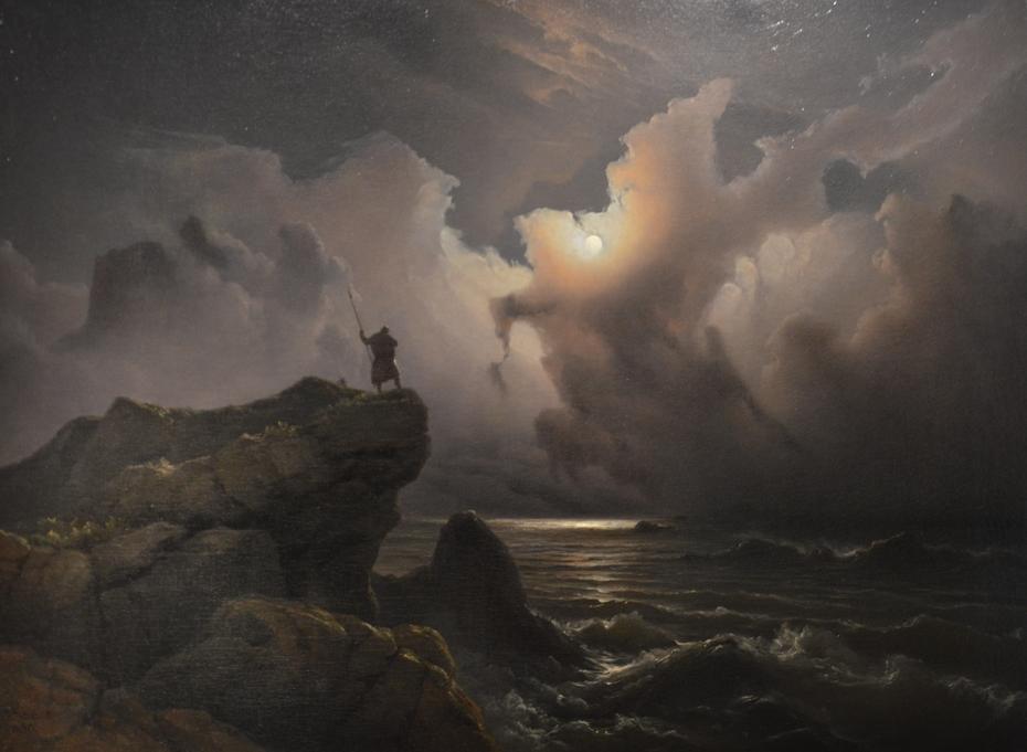 Scene from the Era of Norwegian Sagas
