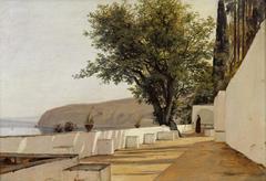 Scene near Sorrento overlooking the Sea