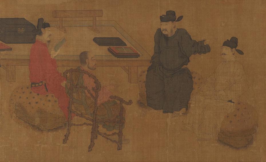 Scholars of the Liuli Hall