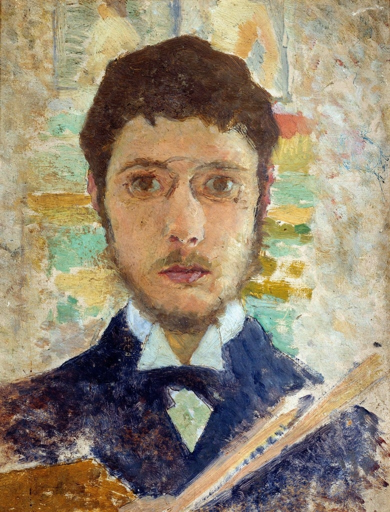 Selfportrait by Pierre Bonnard