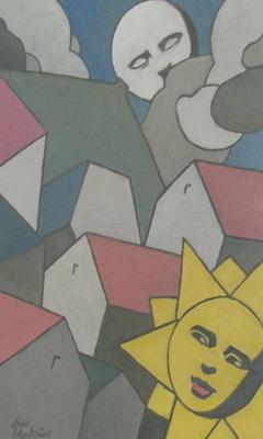 Serie Soles y Lunas. Sol y Luna IV