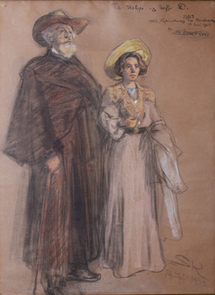 Soffi and Holger Drachmann