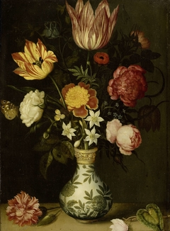 Still Life with Flowers in a Wan-li Vase