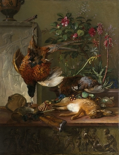 Still Life with Game and a Greek Stele: Allegory of Autumn