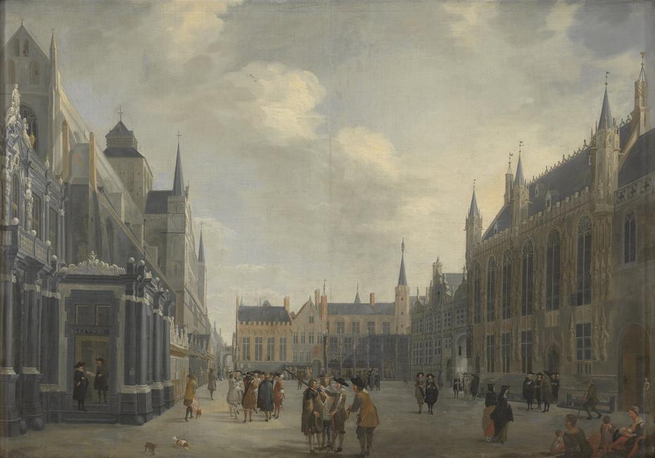 The Burg in Bruges