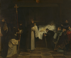 The death of Charles V