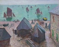 The Departure of the Boats, Étretat
