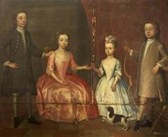 The Four Children of John Ivory Talbot: John (1717-1778); Thomas (1719-1758); Martha (1720-1790); and Ann (1723-1752)