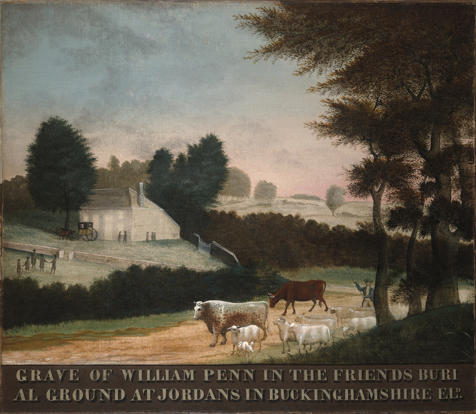 The Grave of WilliamPenn