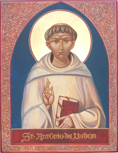 The image of St. Anthony of Padua