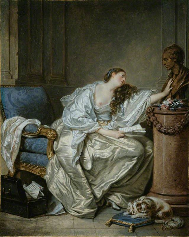 The Inconsolable Widow