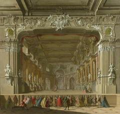 The Interior of a Theatre