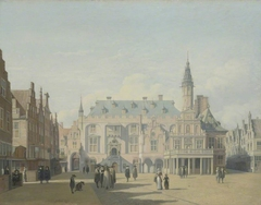 The Market Place and Town Hall, Haarlem