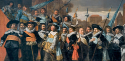 The Officers of the St George Militia Company in 1639