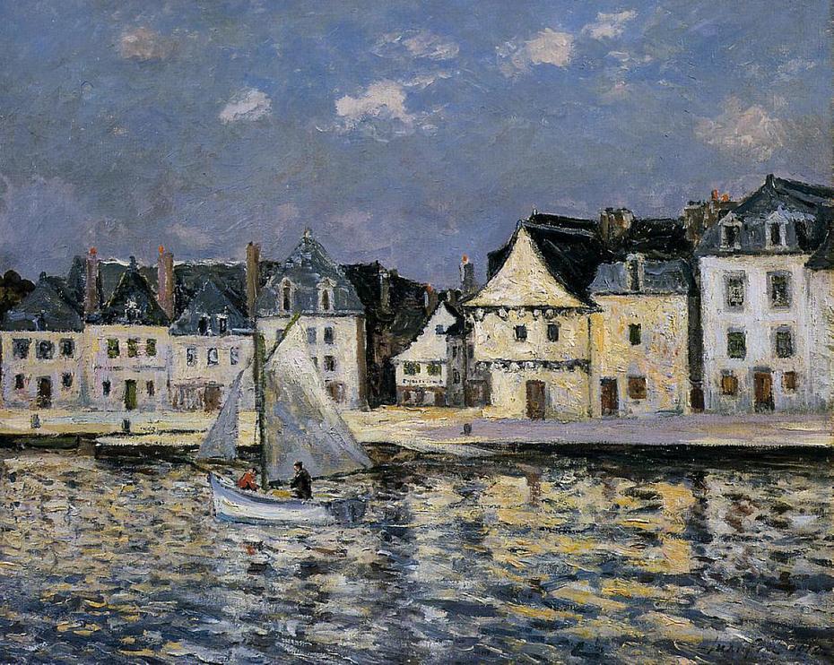The Port of Saint-Goustan