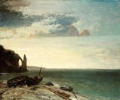 The Sea at Etretat
