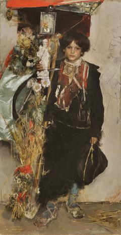 The Standard Bearer of the Harvest Festival