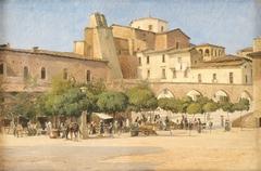 Torvet i Sulmona