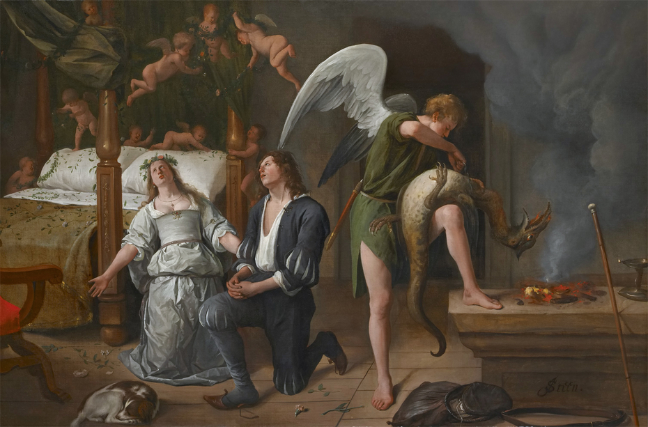 The Marriage bed of Tobias and Sarah