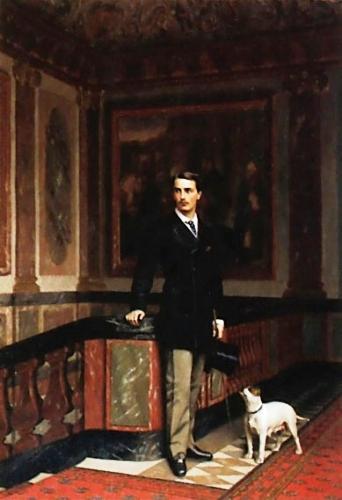 Le Comte de la Rouchefoucauld et duc de Doudeauville