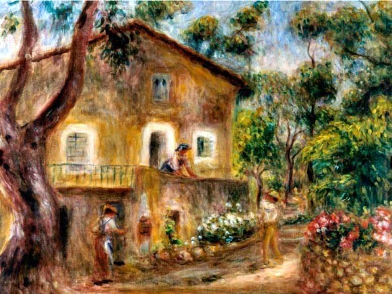 La casa de Collette en Cagnes