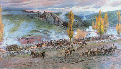 Charge of the Spanish battery