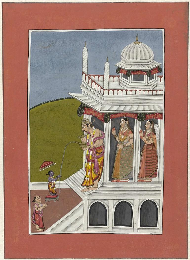 Vamana (incarnatie van Vishnu als dwerg)