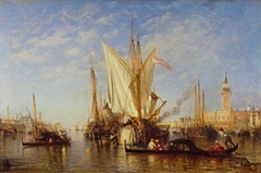 Venice: the Bacino di San Marco with Fishing Boats