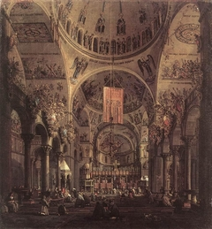 Venice: The Interior of San Marco by Day