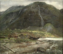 View at Skjolden in Sogn