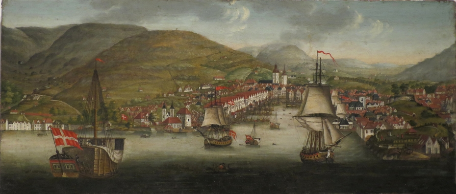 View of Bergen Harbour