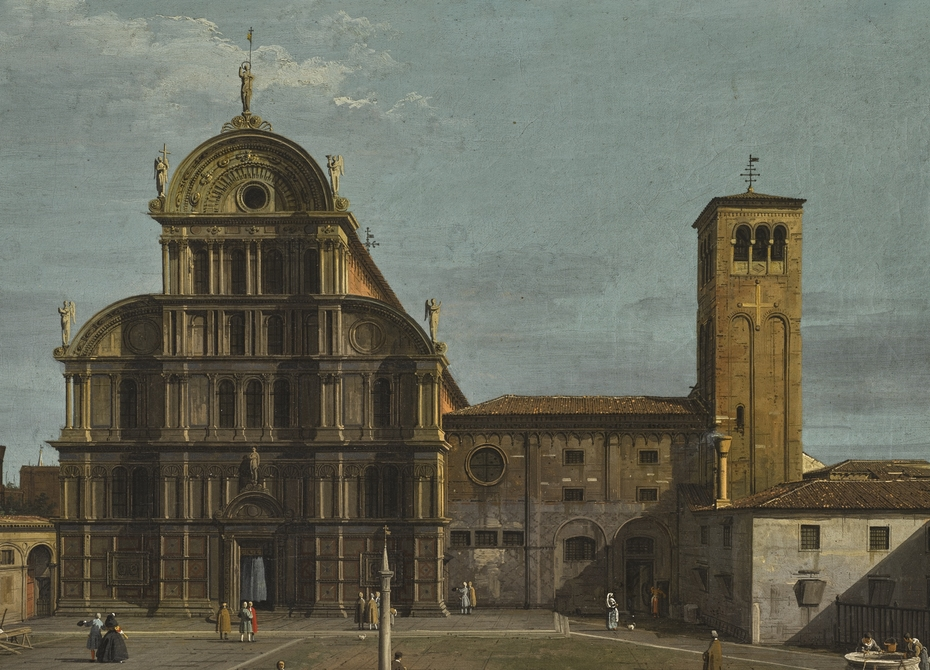 View of San Zaccaria