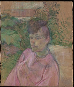 Woman in the Garden of Monsieur Forest