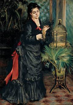 Woman with Parrot (La femme à la perruche)