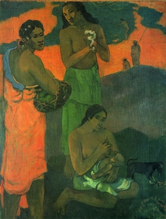 Women on the Seashore (Motherhood)