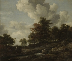 Wooded Landscape with a Rocky Stream