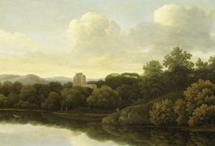 Wooded Landscape with River