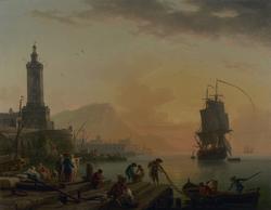 A Calm at a Mediterranean Port