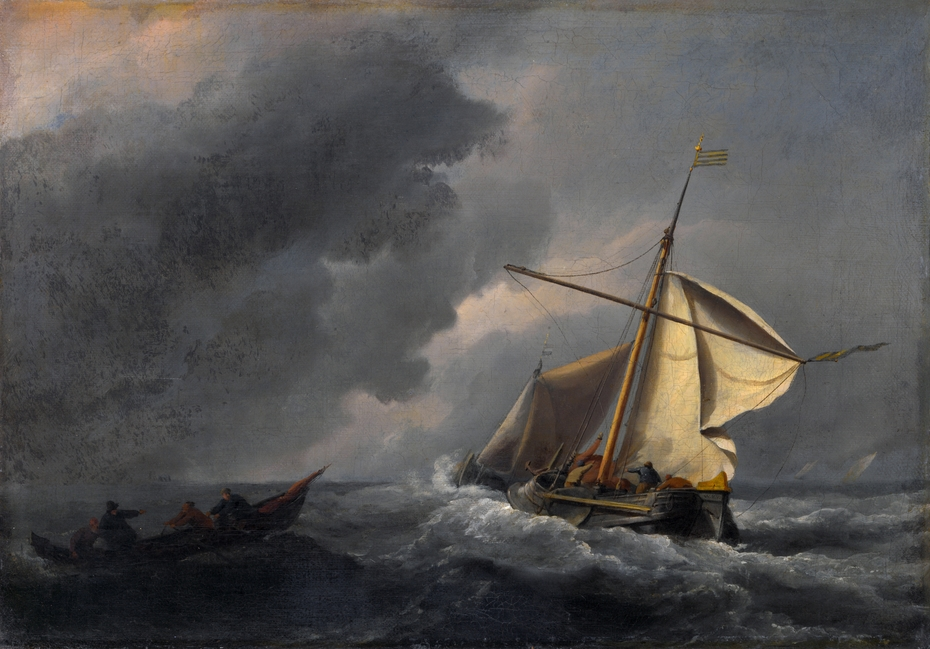 A Dutch Vessel in a Strong Breeze