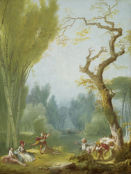 A Game of Horse and Rider