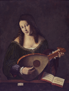 A Girl with a Lute