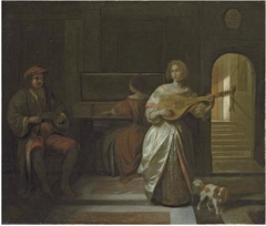 A Musical Company of Three Figures