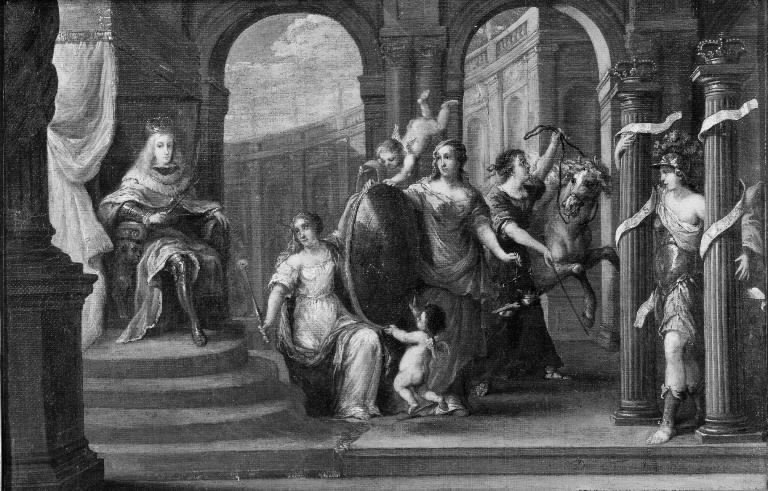 Allegory on the Crowning of Charles II