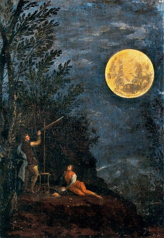 Astronomical Observations: the Moon