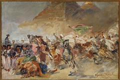Battle of the Pyramids, sketch