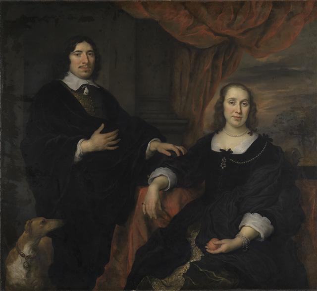 Bildnis eines Ehepaars
