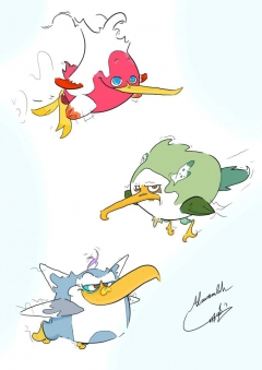 BIRDS !!! my style