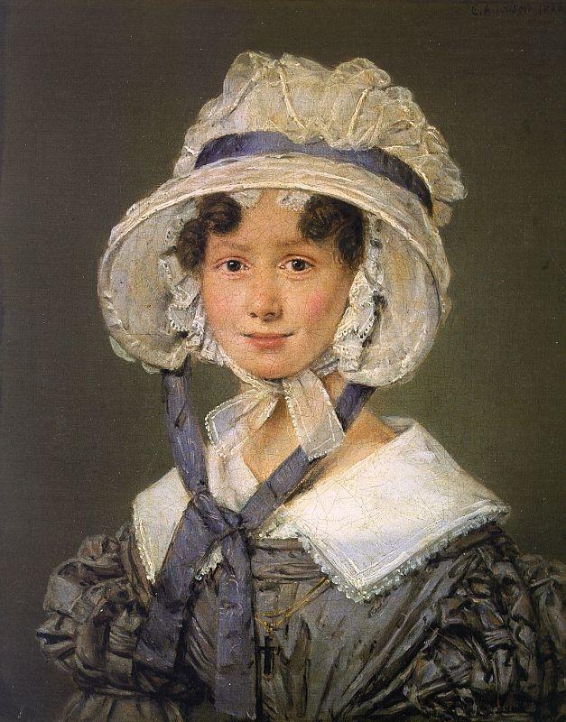 Birgitte Søbøtker Hohlenberg, f. Malling, Johannes Søbøtker Hohlenbergs hustru,