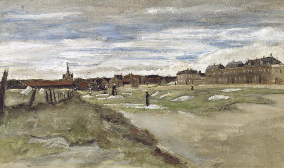Bleaching Ground at Scheveningen